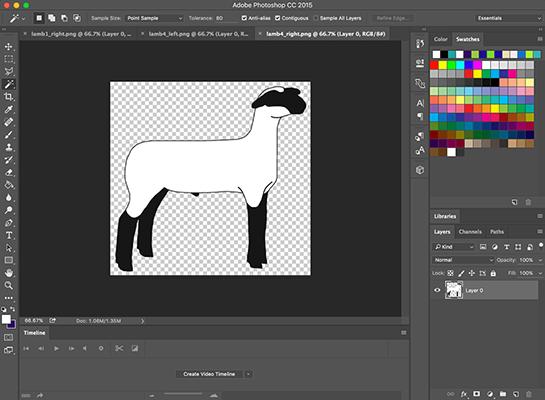Show Lamb Clip Art